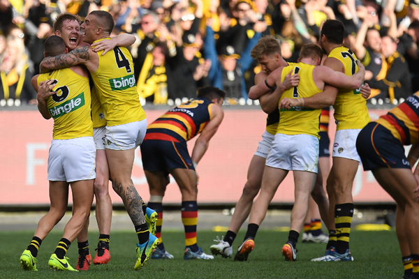 Article image for ANALYSIS: How Richmond broke the premiership drought