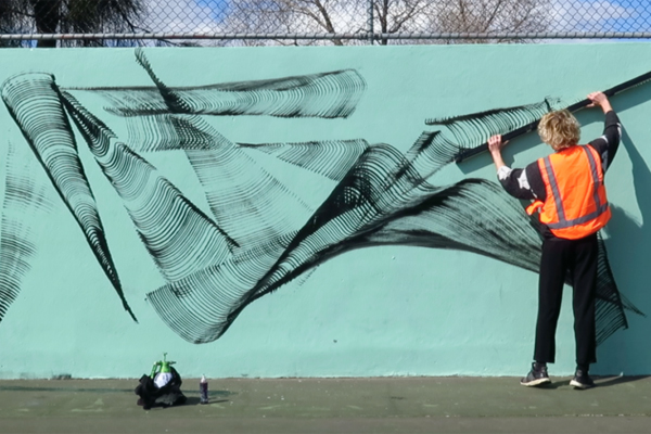 "Article image for ""Stop! You're going to kill me!"": Shocking audio emerges of street art clash"