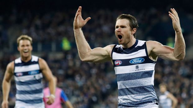 Article image for Geelong ends Sydney's season with a 59-point belting