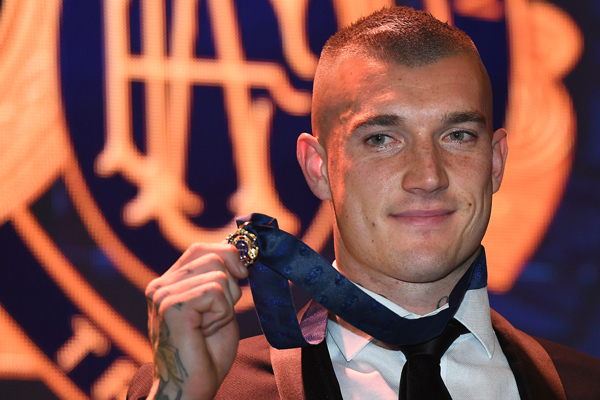 Article image for Records tumble as Dusty Martin claims the Brownlow