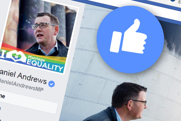 Article image for The price of our Premier's Facebook friends