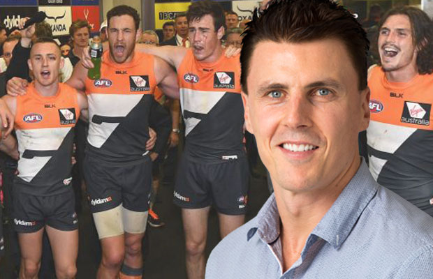 Article image for Lloydy says losing star duo could be a 'blessing' for the Giants