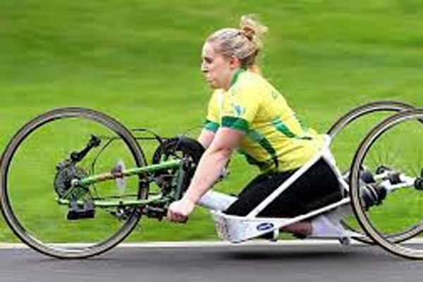 Article image for Bike stolen from three-time Paralympian