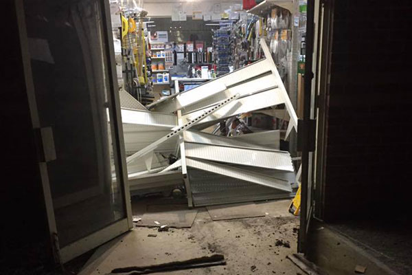 Article image for Ram-raid causes $10k damage south-east of Melbourne
