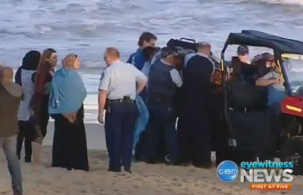 Article image for Uncle of Victorian hero says 'something good' has come out of beach tragedy