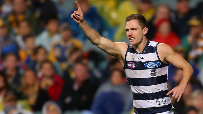 Article image for Joel Selwood names Geelong's starting centre square in Round 1