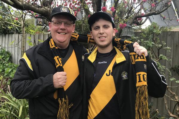 "Article image for ""Fanatical"" Richmond fan wins 3AW Breakfast's golden ticket"