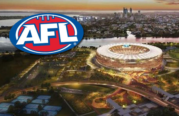 Article image for AFL's new stadium deal 'on the verge of falling apart'