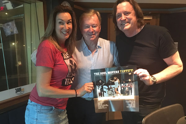 Article image for The Soul Movers sit down for a chat with Denis Walter