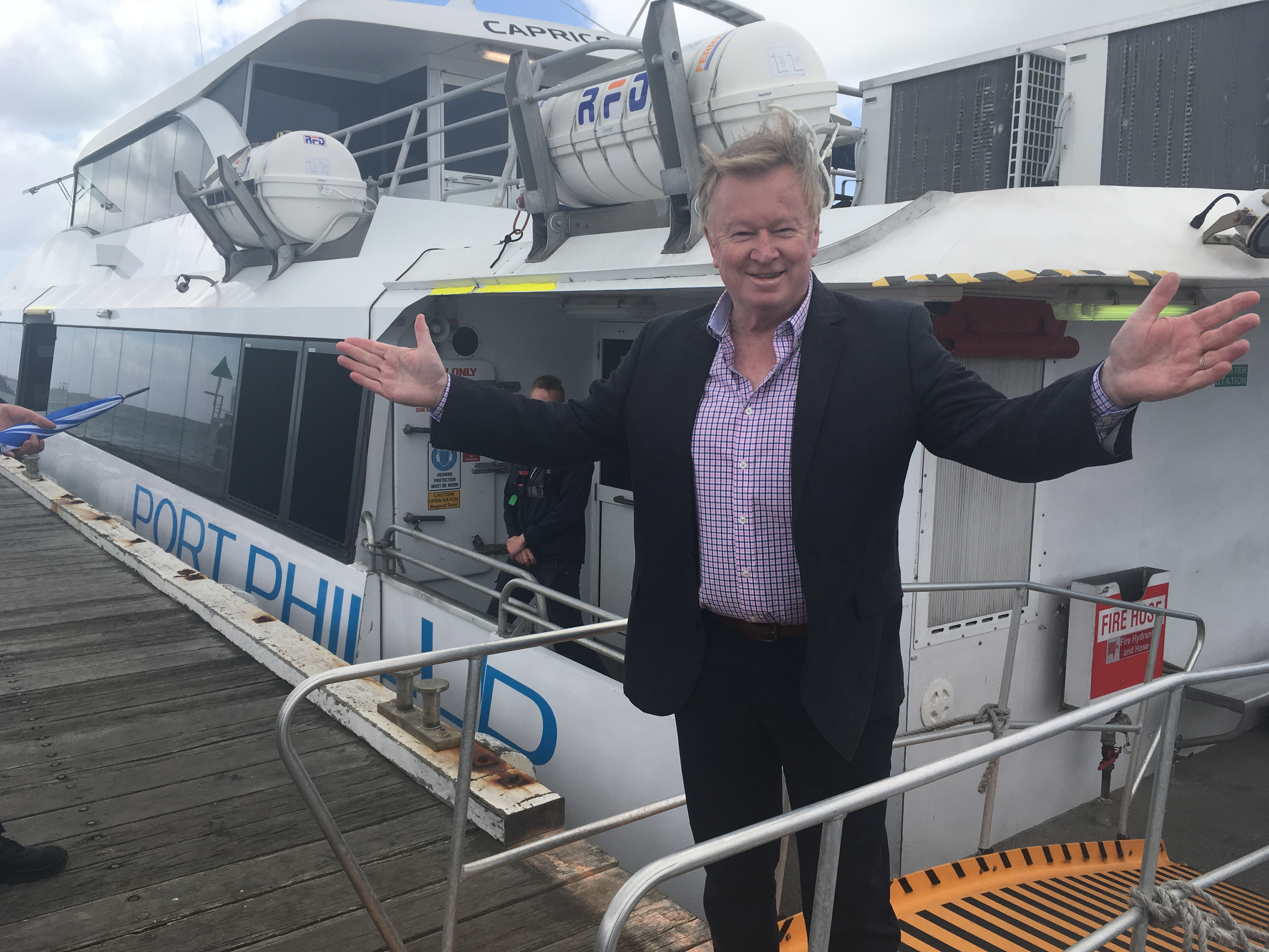 Article image for Denis Walter broadcasts LIVE from the Bellarine!