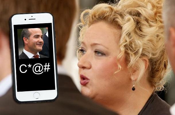 Article image for Health minister's obscene SMS slip-up