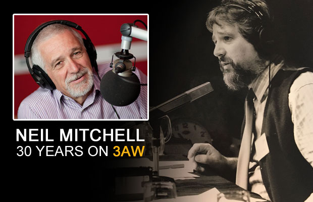 Article image for Neil Mitchell celebrates 30 years on 3AW