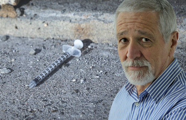 Article image for Neil Mitchell says 'safe' injecting room looks 'political'