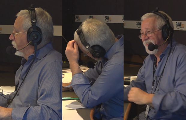 Article image for The moment Neil Mitchell was surprised live on air!