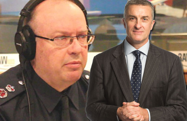 Article image for Tom Elliott says police chief 'crossed the line' with comments on same-sex marriage