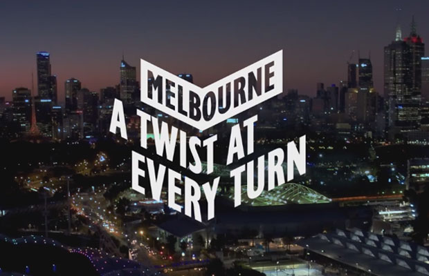 Article image for A 'twist' in new tourism campaign for Melbourne
