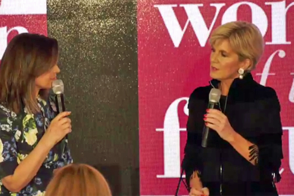 Article image for Julie Bishop: Female politicians in cabinet back each other unconditionally