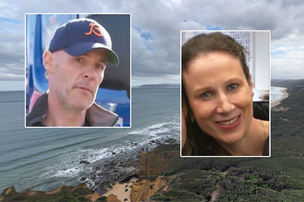 Article image for Husband's desperate plea for wife missing on Victoria's surf coast