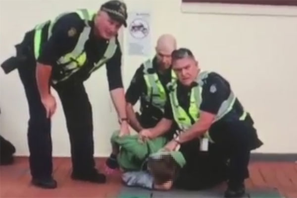 Article image for VIDEO: Police under fire for dramatic arrest of boy, 12
