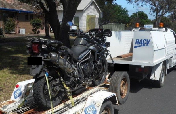 Article image for Motorcyclist nabbed allegedly drunk after riding more than 170 kilometres