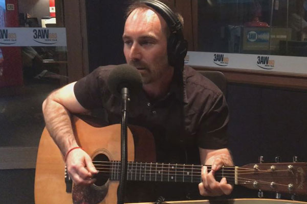 Article image for Billy's Buskers: Michael Meeking joins The Weekend Break crew