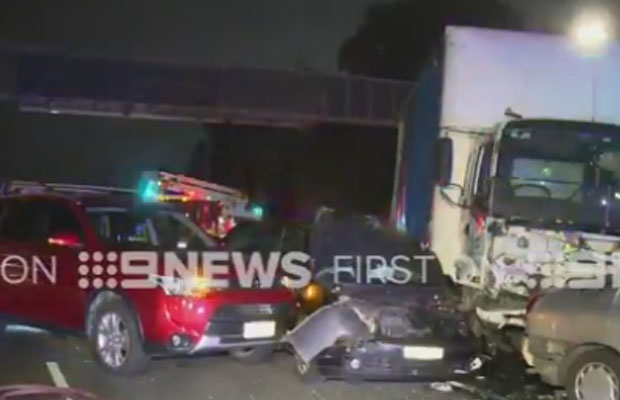 Article image for Details emerge over multi-car smash that brought Monash to a standstill