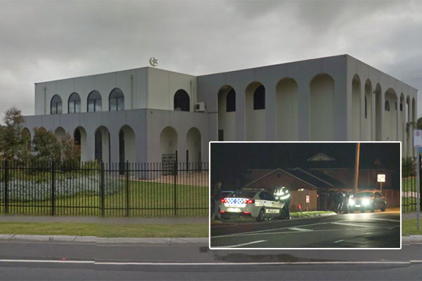 Article image for Rumour update: Suspicious fire started near Melbourne mosque