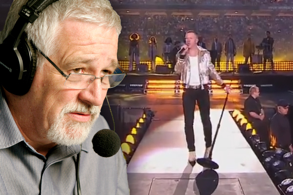 Article image for Neil Mitchell responds to decision to play parody during Macklemore's 'Same Love' in NRL coverage