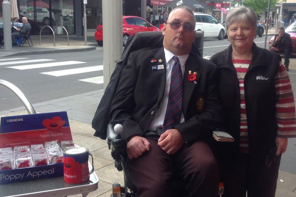 Article image for 'Totally wrong': Local volunteer barred from selling poppies inside Altona supermarket