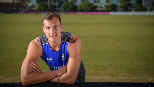 """Article image for North ruckman """"bloody excited"""" about contract extension"""