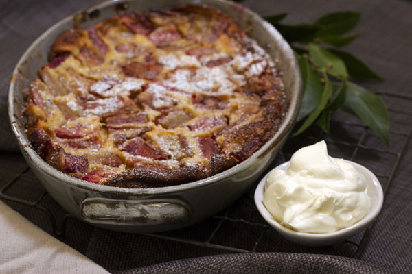 Article image for Emma Dean's recipe for Rhubarb Clafoutis