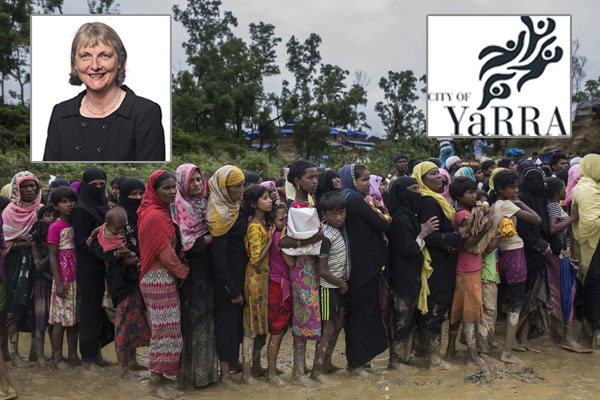 Article image for Yarra mayor puts forward motion to take on 20,000 Rohingya refugees
