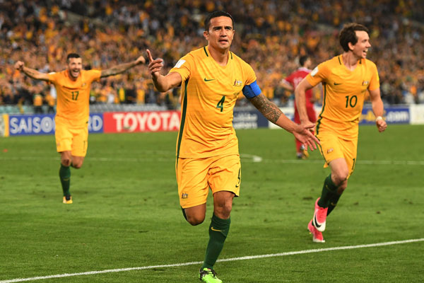 Article image for 'Toughest challenge yet': Tim Cahill says the Aussies have their work cut out for them in Honduras