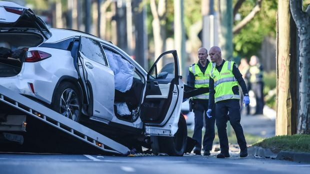 Article image for Oakleigh hit-run car seen driving erratically two hours before crash