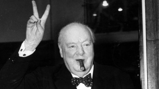 Article image for This Winston Churchill snippet left Ross and John speechless!