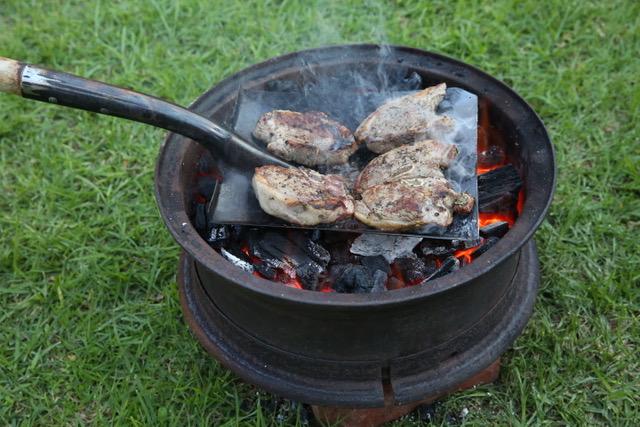 Bob Hart's secret to a good barbecue flavour