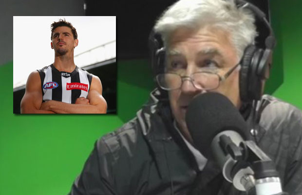 Article image for Gerard Healy full of praise for Collingwood's captain