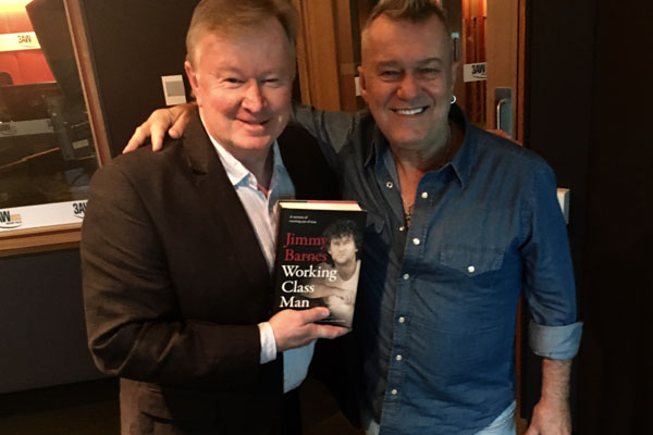 Article image for Jimmy Barnes opens up about his painful past in his new memoir