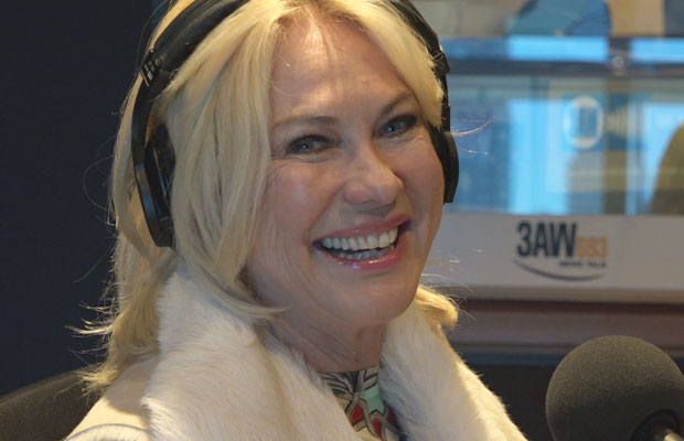 Article image for Kerri-Anne Kennerley's memorable chat with Neil Mitchell!