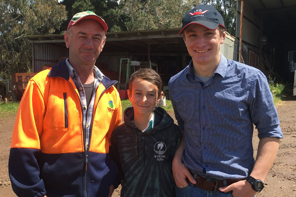 Article image for Triple Zero hero: Teenager saves his father's life on remote Victorian farm
