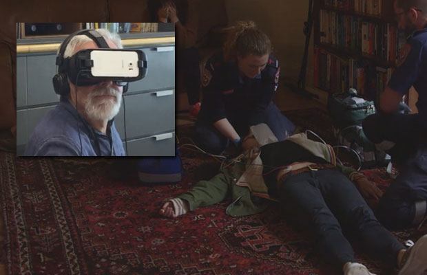 Article image for 'Frightening' | Neil Mitchell's virtual ambulance experience leaves him in awe of paramedics