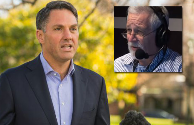 Article image for 'We are SICK of it!' | Neil Mitchell clashes with Labor MP over Sam Dastyari