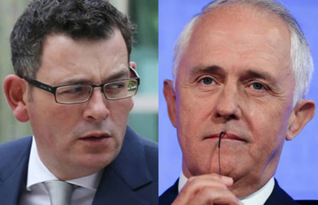 Article image for Malcolm Turnbull hits back at Daniel Andrews