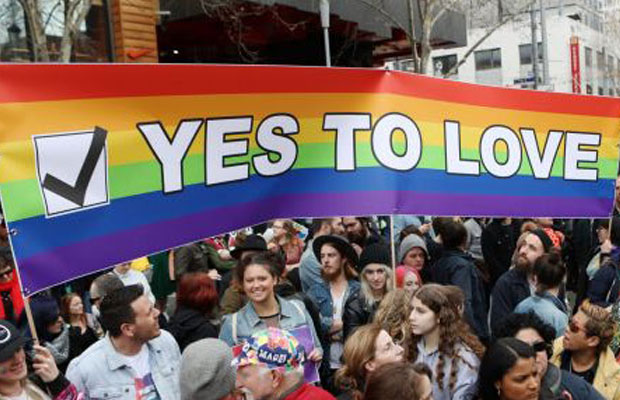 Article image for Australia votes YES to marriage equality