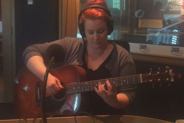 Article image for Billy's Busker: Brooke Russell performs on The Weekend Break