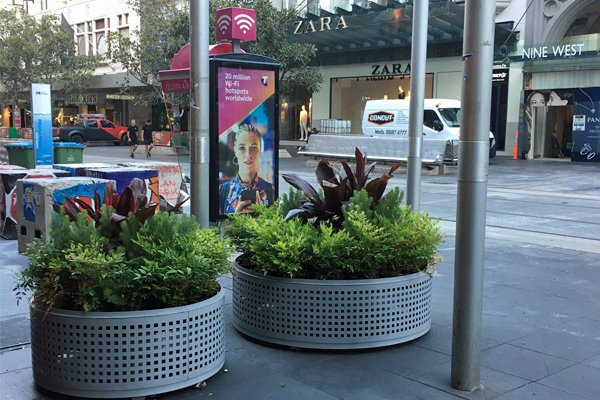 Article image for Melbourne's eyesore bollards have been replaced