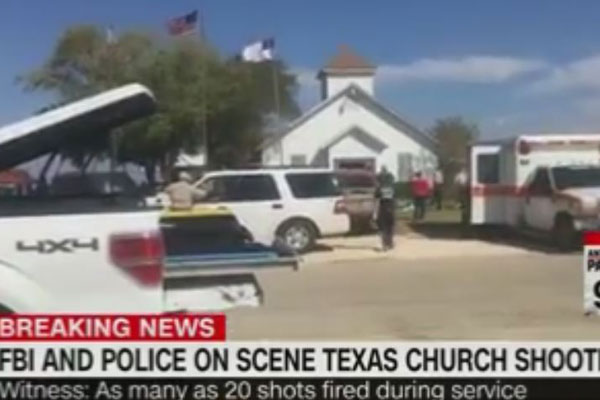 Article image for Multiple people shot dead after church massacre in Texas