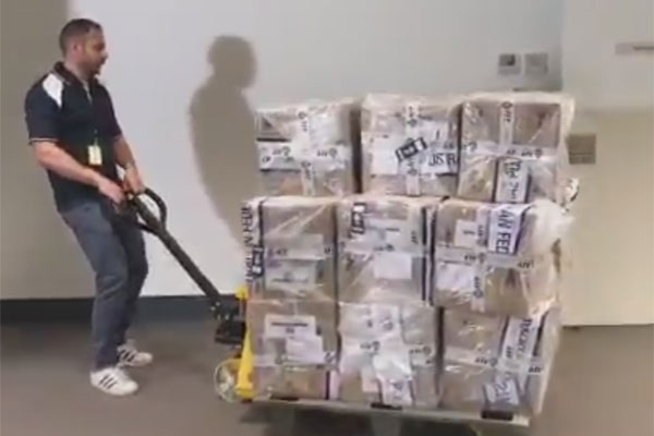 Article image for Mexican drug ring foiled as 300kg of cocaine seized in Melbourne