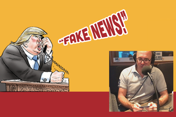Article image for Cartoon king plays his Trump cards with Ross and John