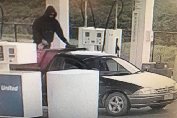 Article image for Bizarre Tooradin petrol drive-off